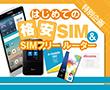 特別企画:はじめての格安SIM&SIMフリールーター